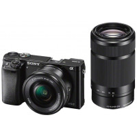 Sony α6000 ( ILCE-6000YB ) Black kit + Sel 16-50mm + 55-210mm