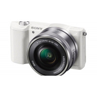 Sony α5100 ( ILCE-5100 ) White kit + Sel 16-50mm + Κάρτα SD 32GB