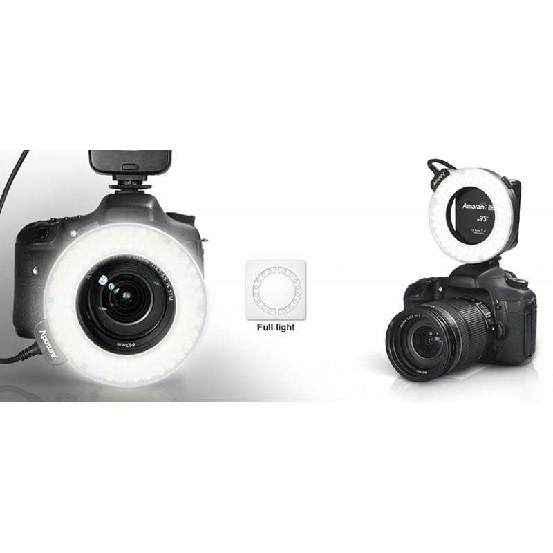 Aputure Halo HC100 Led Ring Flash for Canon