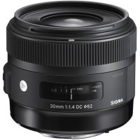 Sigma 30mm f/1.4 DC HSM Art Lens for Nikon [301-306]
