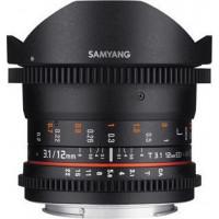 Samyang 12mm T/3.1 Fisheye VDSLR Nikon [F1312103101]
