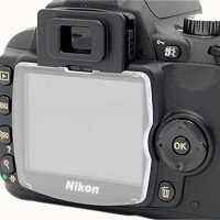 JJC LN-D40 Hard LCD Protector Cover for Nikon D40/D40X