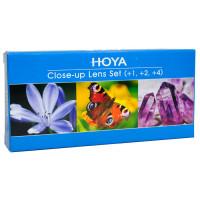 Hoya Close-up lens set (+1,+2,+4) 55mm