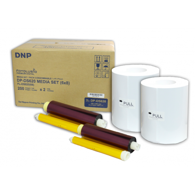DNP DM68/620 Χαρτί για τον Εκτυπωτή DNP DS-620 (15x20, 10x15)
