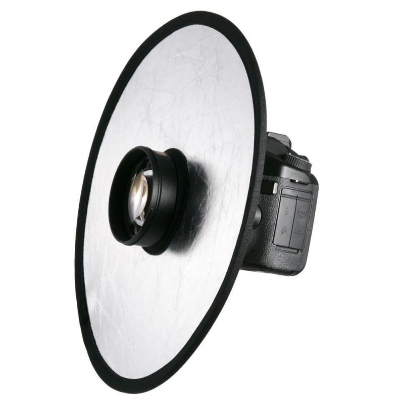 Leinox 30cm Macro Lens Reflector - Silver/Gold