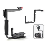 Leinox Multi-Angle Quick Flip Off Camera Flash Bracket [LH-01]