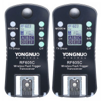 Yongnuo RF-605C - Flash Trigger για μηχανές Canon