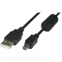 OEM Καλώδιο USB 2.0 για Olympus 8pin 1.8m [CABLE-292]
