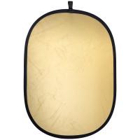 Leinox Foldable Reflector Silver/Gold, 100x150cm