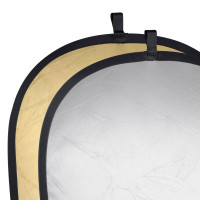 Oem IRiSfot Foldable Reflector Silver/Gold, 60x90cm