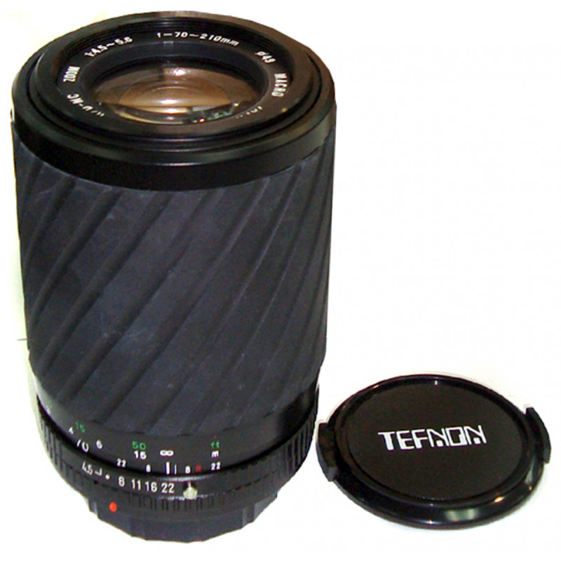 Tefnon 70-210mm f/4.5-5.6 for Canon FD used