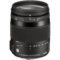 Sigma 18-200mm f/3.5-6.3 DC Macro OS HSM Lens For Canon [885-101]