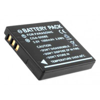 Replacement battery for Panasonic CGA-S008 / DMW-BCE10