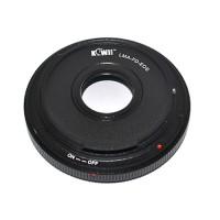 KiwiFotos Canon FD Lens to Canon EOS body LMA-FD_EOS