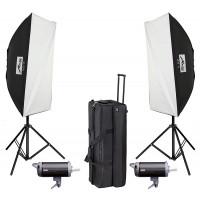 Metz TL 600 SB KIT II studio flash kit