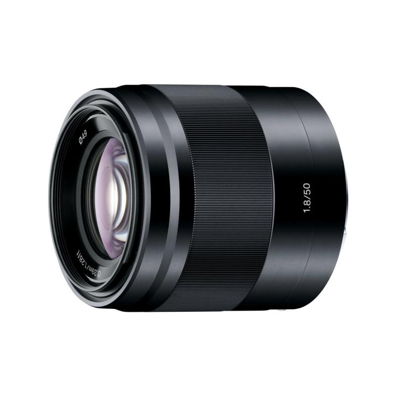 Sony Lens E-mount 50mm f/1.8 OSS Black [SEL50F18B]