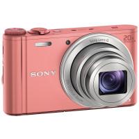 Sony Cyber-shot WX350 Pink + Δώρο Θήκη FDS