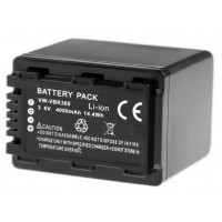 Replacement battery for Panasonic VW-VBK360
