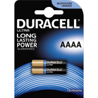 Μπαταρία αλκαλική Duracell AAAA Ultra mini battery, pack of 2 [DUR041660]