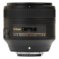 Nikon AF-S Nikkor 85mm f/1,8G