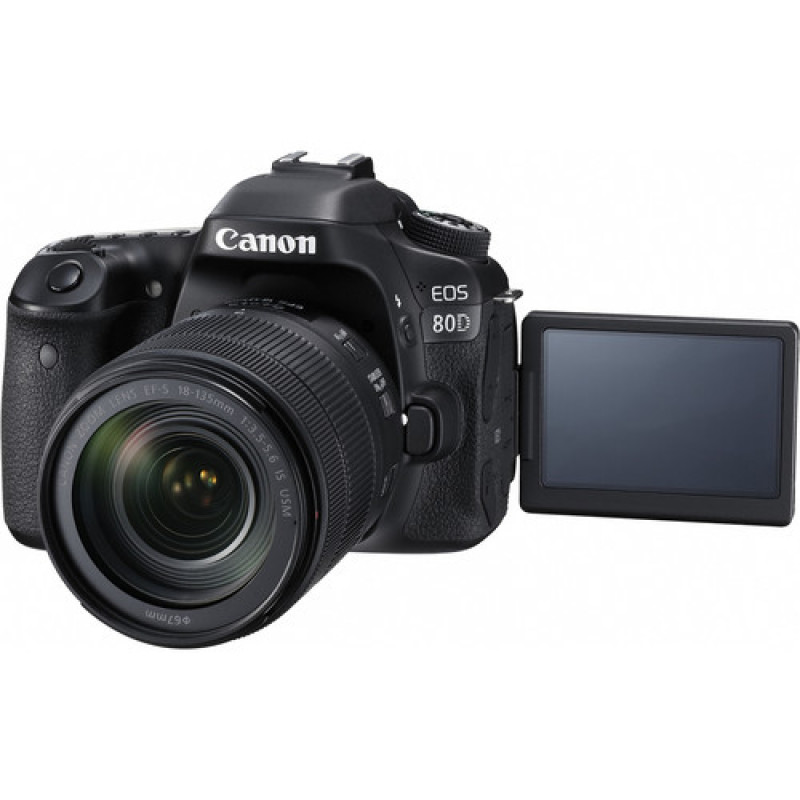 Canon EOS 80D Kit with 18-135mm IS Nano USM