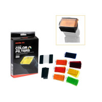 Godox GD-CF07 7 Color Universal Speedlite Filters Kit
