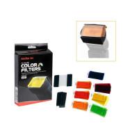 Godox GD-CF07 7 Color Universal Speedlite Filters Kit