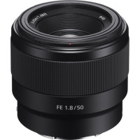 Sony Lens E-mount FE 50mm f/1.8 [SEL50F18F]