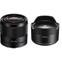 Sony Lens E-mount FE 28mm f/2 + Ultra Wide Converter [SEL28F20WC]