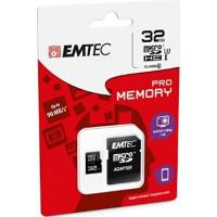 Emtec microSD 32gb Class10 Pro UHS-I U3 [ECMSDM32GHC10PR]
