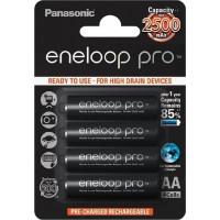 Panasonic Eneloop Pro Mignon 1x4 AA 2500mAh [BK-3HCDE/4BE]
