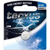 Μπαταρία αλκαλική Tecxus LR43 1,5V [12037]