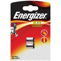 Μπαταρία λιθίου/photo Energizer E11A σε blister με 2 μπαταρίες