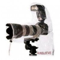 1x2 OP Tech Rain-Sleeve for SLR with Flash