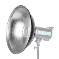 Quadralite Beauty Dish Silver 55cm - Bowens mount