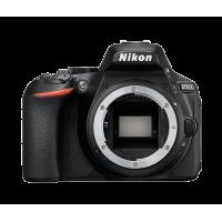 Nikon D5600 Black Body + Δώρο Θήκη + SD 32gb (Με 100,00€ Cashback)