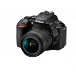 Nikon D5600 kit AF-P 18-55mm VR Black [VBA500K001]
