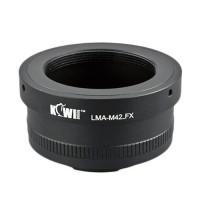 KiwiFotos M42 Lens to Fujifilm X-Pro1 body LMA-M42_FX