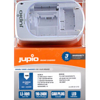Jupio double side charger for Olympus/Fuji batteries [LOL0020]