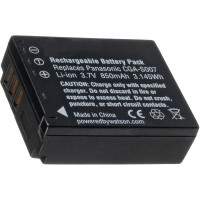 Replacement battery for Panasonic CGA-S007