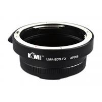 Kiwi Canon EOS Lens to Fuji X body LMA-EOS_FX