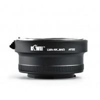 KiwiFotos Nikon F Lens to Micro 4/3 body LMA-NK_M4/3