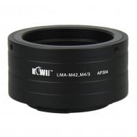 KiwiFotos M42 lens to micro 4/3 body LMA-M42_M4/3