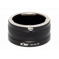 KiwiFotos Sony a/Minolta Lens to Sony e mount body LMA-SM_EM