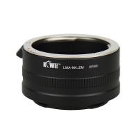 KiwiFotos Nikon F lens to Sony e mount body LMA-NK_EM