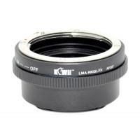 KiwiFotos Nikon G Lens to Fuji X-Pro1 body LMA-NK(G)_FX