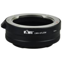 KiwiFotos 4/3 lens to Sony E mount body LMA-4/3_EM