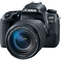 Canon EOS 77D Kit & EF-S 18-135mm f/3.5-5.6 IS USM (Cashback για Φοιτητές  -90€ )