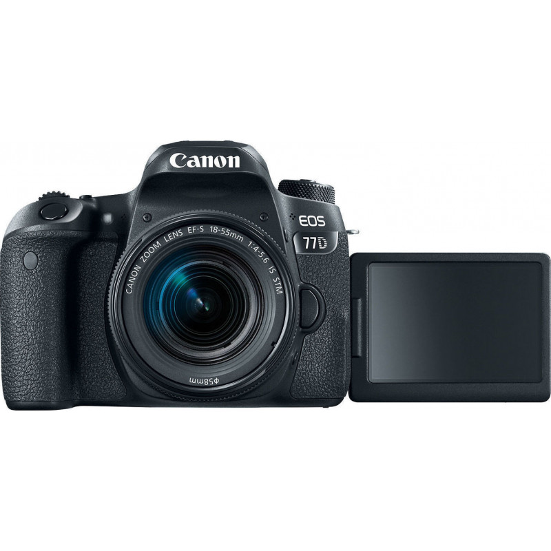 Canon EOS 77D Kit & EF-S 18-55mm f/3.5-5.6 IS STM