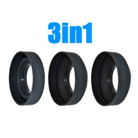 JJC Lens Hood 3 in 1 LS-77S 77mm